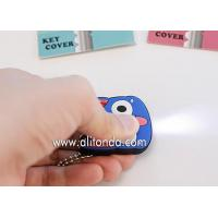 Best Factory supply cartoon character pvc plastic key cover with led light wholesale