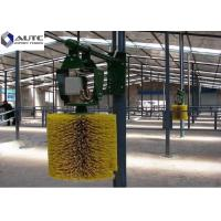 Cheap Customized Color Rotating Cow Brush , Cattle Scratcher Brush Hard Plastic PP for sale