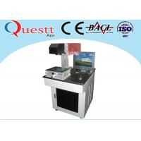 Best 10W CO2 Laser Marking Machine For Plastic Leather Fabric With Air Cooled wholesale