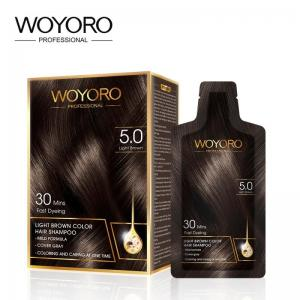 China Private Label 30ml Permanent Hair Colour Sachet on sale