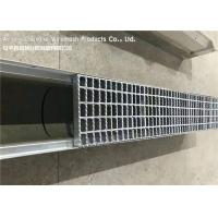 China Malaysia Flat Bar Steel Grate Drain Cover For Residential Area Drainage Channels on sale