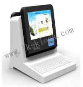 China Customer Self Service Ticket Kiosk Professional 650 Cd/㎡ Brightness on sale