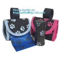Best Bone Shape Pet Dog Waste Bag With Dispenser Shape Holder Pet Poop wholesale