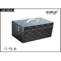 China Black Corrugated Cardboard Gift Boxes Handmade For Electronic Cigarette on sale