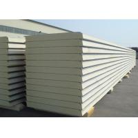 Best Insulated Polyurethane Sandwich Panel Polyurethane Foam Wall Panels For Clean Rooms wholesale
