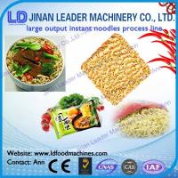 China instant noodles making equipments instant noodles manufacturing plant on sale