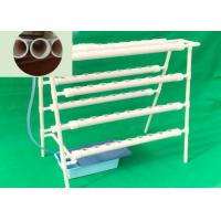Best Commercial Soilless Cultivation , NFT Hydroponic PVC Channel High Safety wholesale