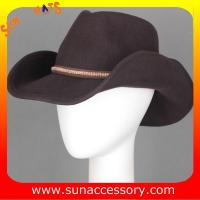 Best 4940370 Sun Accessory customized  winner  fashion 100% wool felt cowboy  hats, unisex hats and caps wholesaling wholesale
