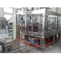 3 In 1 Automatic Glass Bottle Filling Machine Mango Puree Basil Seed Capping