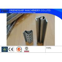 China Electrical Cabinet Frame Roll Forming Machine 9 Folder Section Bar Making Machine on sale