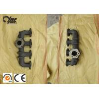 Best Sivler Color 4D31 Diesel Engine Exhaust Manifold Cast Iron Material wholesale