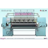 China 4.5kw Computer Multi - Needle Quilting Machine Independent Flower - Shaped Needle Speed Up To 500 Needles / Minut on sale