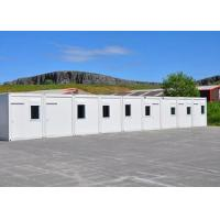 Best Tourist Attraction Prefab Shipping Container Office Removable Steel Cold - Formed Pillar wholesale