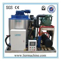 Best Salt Water Flake Ice Machine For Poultry Cooling , R507 3000kg/D wholesale
