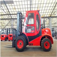 Best 4 x 4Wd Small All Rough Terrain Forklift 1800Kg Hydraulic Truck Customized Color wholesale