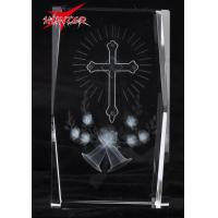 Best K9 Cross Crystal Gift 3D Laser Crystal Christmas Gift wholesale