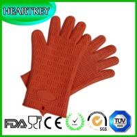 Best Silicone Pot Holders Heat Resistant Silicone BBQ Oven Grill Gloves wholesale