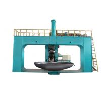 Dished end flanging machine For Making Storage Tank Φ 3000 × 16mm /  Metal Spinning