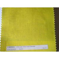 Cheap Linen cotton blended fabric for sale