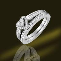 Best 2012 New Designed Mirco Setting 925 Sterling Silver Wedding Ring (RSA3420) wholesale