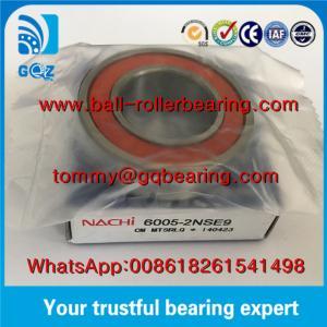 Buy cheap Japan Origin Rubber Sealed Deep Groove Ball Bearing NACHI 6005-2NSE9 product