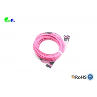 Best Female 50/125 LSZH OM3 48F 96F MPO MTP Trunk Cable wholesale