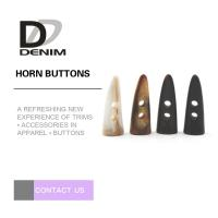 Best Fashion Horn Plastic Buttons for Sweater & Coat wholesale
