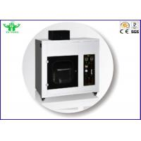 Best ISO 9772 Foam Plastic Horizontal Burning Test Machine / UL94 HBF Flammability Tester wholesale