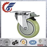 "Best 5"" medical caster wheel with total lock from china manufacture wholesale"