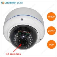 Best HD 1080P Waterproof Zoom IR Dome IP Camera P2P Plug and Play wholesale