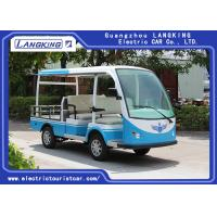 Best 5 Seats Electric Cargo Vehicle With Roof For Bus Stations , Docks , Stadiums wholesale
