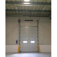 China Insulated Sandwich Panel Industrial Sectional Doors for Outside Use on sale