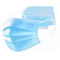 Best Top quality 3Ply Non Woven Air Anti Virus and Dust disposable Surgical Medical Face Mask , surgical non woven 3 ply mask wholesale