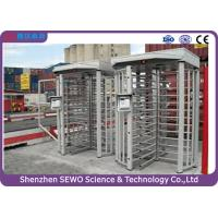 Buy cheap High Quality Brushless Motor Single Channel Security Full Height Turnstile with RFID Card Reader product