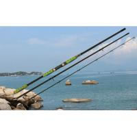 Float fishing rod with sensitive tip and SIC guides