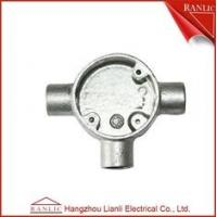 Best White Malleable Pipe Fittings 3 Way Junction Box 32mm 40mm For BS4568 GI Conduit wholesale