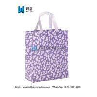 Best New color glitter printed for shopping handbag with your logo wholesale