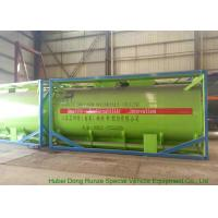 Best 20Feet HCL Acid ISO Tank Container For Shipping UN1789 Steel Lined PE 16mm wholesale