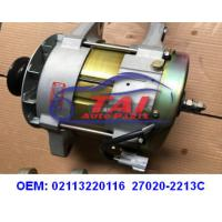 Buy cheap Starter Motor Vehicle Engine Parts 02113220116 27020-2213C FOR HINO 24V 120A from wholesalers