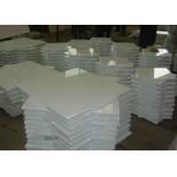 Best Pure White Nano Glass Tile For Interior / Exterior Wall 305x305mm - 600x600mm wholesale