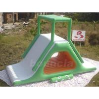 China Inflatable Floating Water Slide With Stainless Steel Anchor Rings on sale