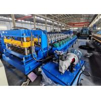 China 0.3mm-0.8mm Sheet Metal Roll Forming Machine Color Steel Rolling Steel Cold Roof on sale