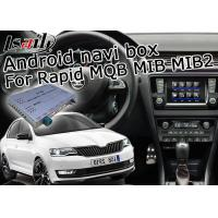 Buy cheap Skoda Rapid Bluetooth USB Car Multimedia Navigation System With ADAS Lane from wholesalers