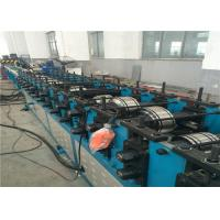 Best Square Air Duct Shutter Roll Forming Machine , Auto Rolling Shutter Making Machine wholesale