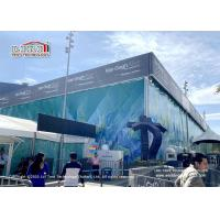 Buy cheap Liri Cube Structure Tent 25x50m With 8m Height Used For Van Gogh Art Exhibition from wholesalers