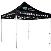 Best Aluminum Structure Outdoor Trade Show Tents CMYK Heat Transfer Printing wholesale