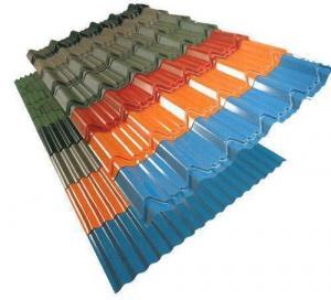 Best Waterproof Painted Corrugated Steel Roofing Sheets Panel / Color Coated Metal Roof wholesale