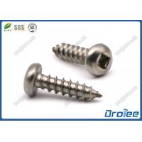 Best 18-8 / 316 Stainless Steel Robertson Square Pan Head Sheet Metal Screws wholesale