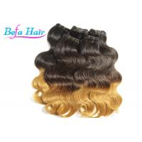 Best Glam Peruvian 26 inch Ombre Remy Hair Extensions Weave With No Shedding wholesale
