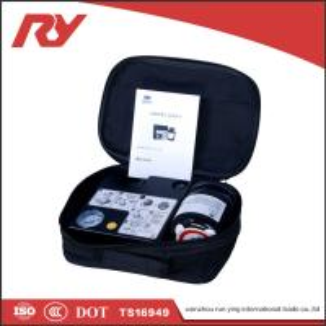 Best 100% New Portable Car Tire Inflator Air Compressor DC 12V Detachable Tire Gauge wholesale